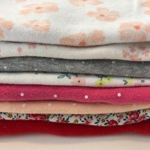 11pc bundle long sleeve onesies and pants